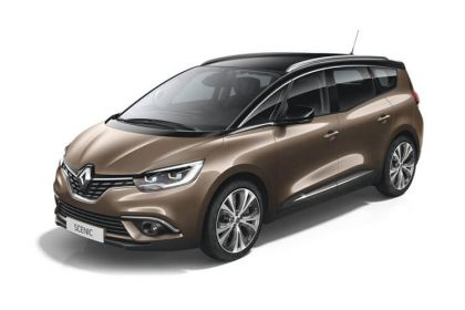 Lease Renault Scenic car leasing